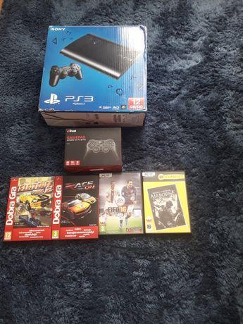 Zestaw gier na PC +pad i PS3