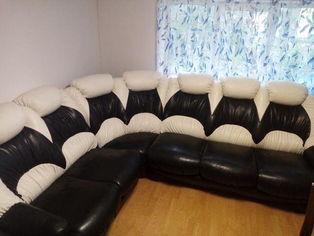Kanapa z fotelem do salonu