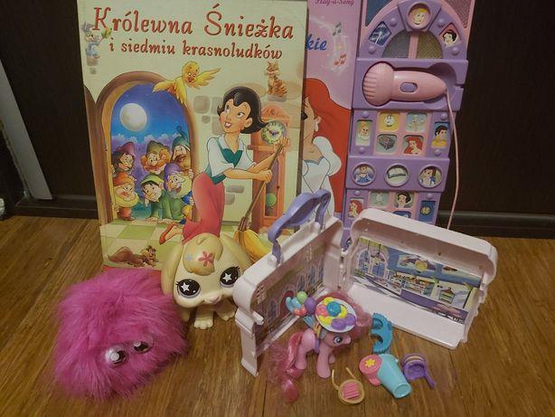 Pony pet shop Lp interaktywny puszek zabawki