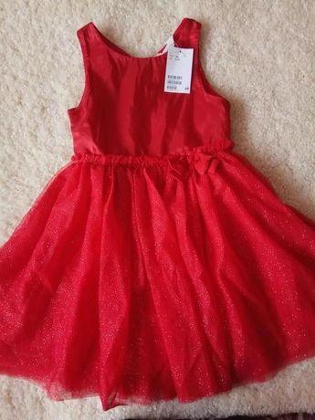 Праздничное платье H&M р.116