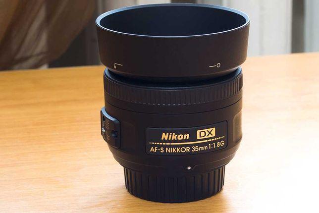Nikon 35mm f/1.8G AF-S Объектив DX - Nikkor