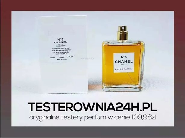 Chanel No.5 100ml EDP | NOWY TESTER