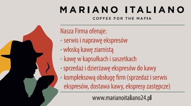Serwis, naprawa i sprzedaż ekspresów do kawy Mariano Italiano