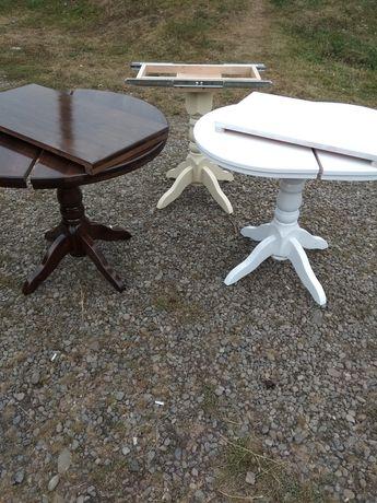 кухонный стол столешница и ножка натуральное дерево