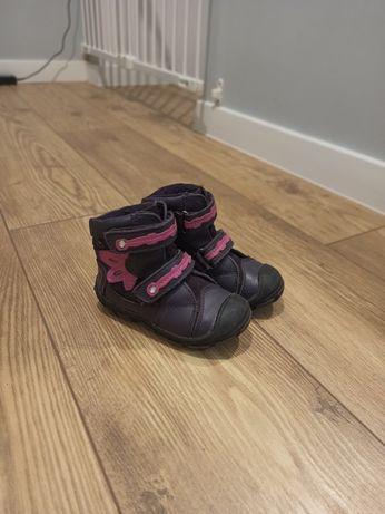 Zimowe buty dzieciece rozmiar 23