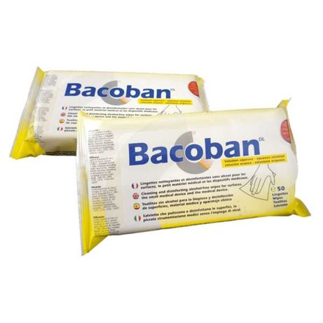 Toalhetes Bacoban Limpeza e Desinfecção (Sem Álcool)