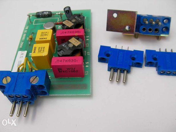 Fichas electricas agrupaveis. Mini ligadores