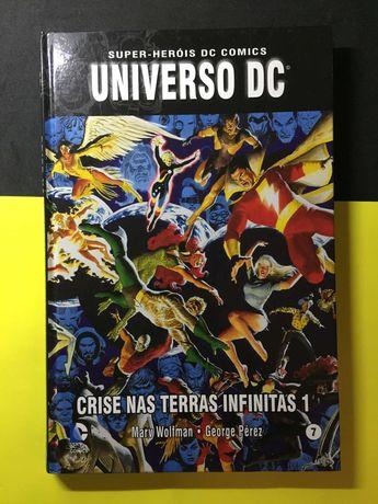 Super-Heróis DC Comics. universo DC - Crise nas terras infinitas 1