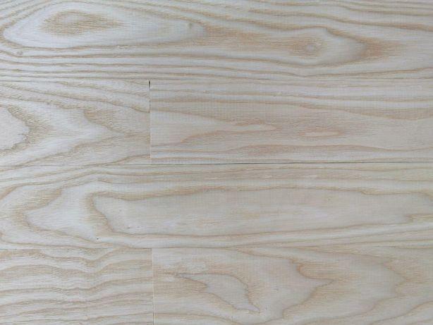 Deska podłogowa parkiet jesion biały 100/16/1000 klasa AA producent