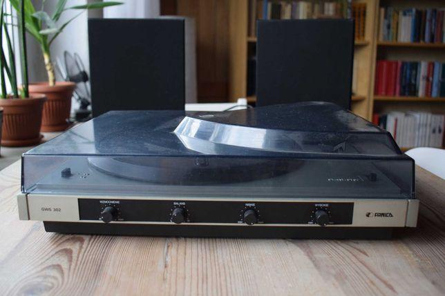 GWS 302 adapter gramofon na winyle Unitra Fonica sprawny!