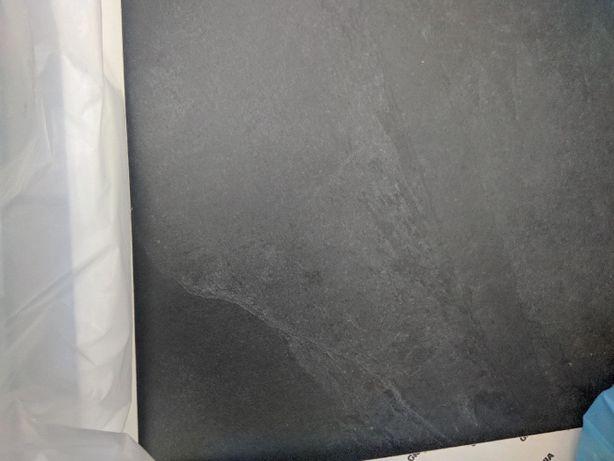 Gres antracytowy płytki antracytowe Annapurna negro 80x80 Grespania