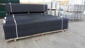 Panel ogrodzeniowy grafitowy Fi5 1230x2500 mm