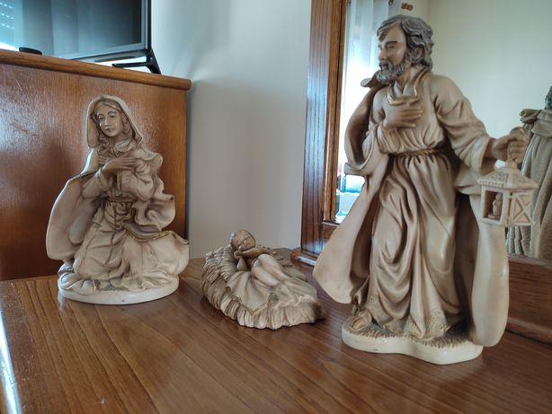 Imagem Maria, José e Menino Jesus