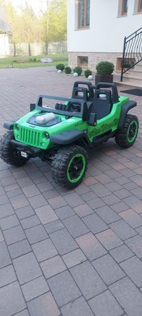 Jeep autko dla dzieci 2 osobowy 120x80cm