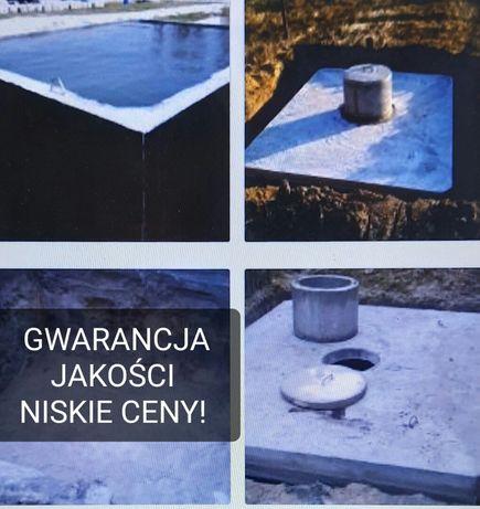 Zbiornik Betonowy Szambo Deszczówka