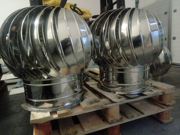 Sprzedam TurboVent (400mm) nierdzewny z podstawą