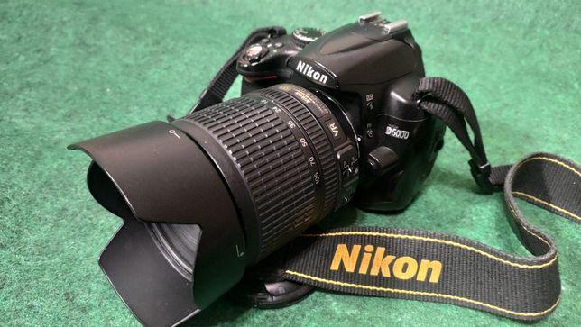 Фотоаппарат Nikon D5000 + Объектив Nikon DX AF-S Nikkor 18-105mm