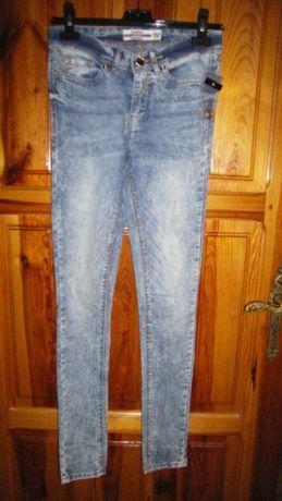 dżinsowe rurki ze streczem roz.34 i 36 nowe
