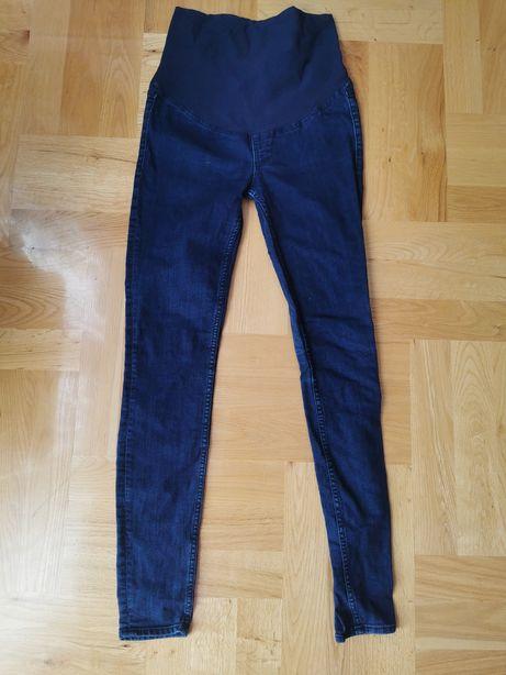 Spodnie jeansy jeans ciążowe H&M Mama rozm. 36