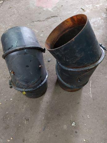 Rura spalinowa 165mm regulowane REWIZJA dymowa kominowa