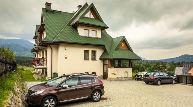 Apartament Pistacjowy z widokiem na Giewont - realizacja bonu turyst.