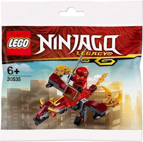 Klocki LEGO NINJAGO 30535 Czerwony Smok Kai Ognisty Lot