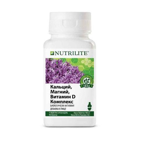 NUTRILITE™ Кальций, магний, витамин D комплекс, 90 таб.