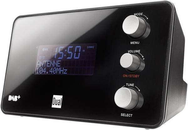 Radio Cyfrowe DAB/DAB+ Dual DAB CR 25 FM Radiobudzik
