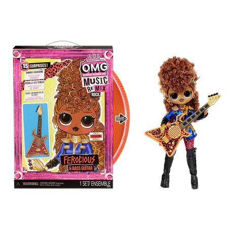 Кукла LOL Surprise  OMG Remix Rock Ferocious Buss Guitare Фурия 577591