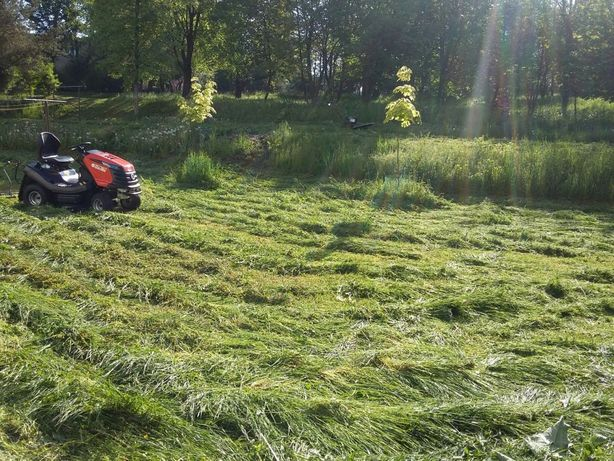 Koszenie traw, wypożyczalnia kosa,traktorek Glebogryzarka rozdrabniacz