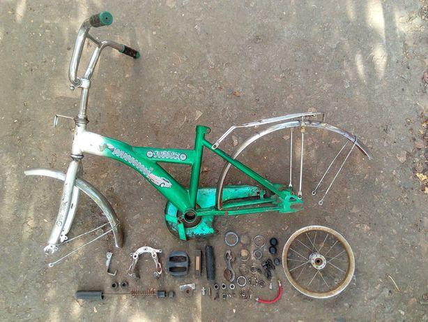 Рама детского велосипеда запчасти велосипеда