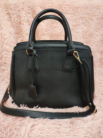 Torebka torba czarna A4