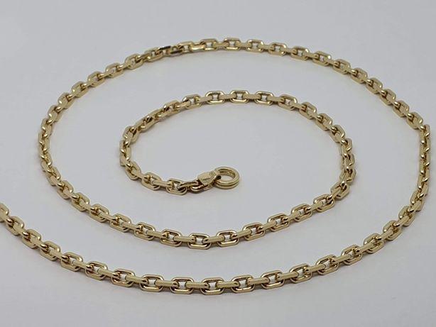 Nowy Złoty Męski Łańcuszek  Złoto 585 14k  Waga 31,8g Długość 60cm