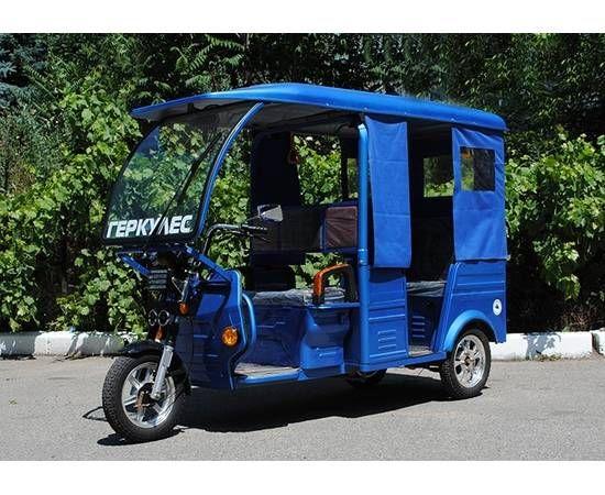 Электрический пассажирский моторикша ГЕРКУЛЕС e-Rikshf