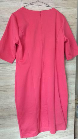 Sukienka czerwona, rozmiar 44