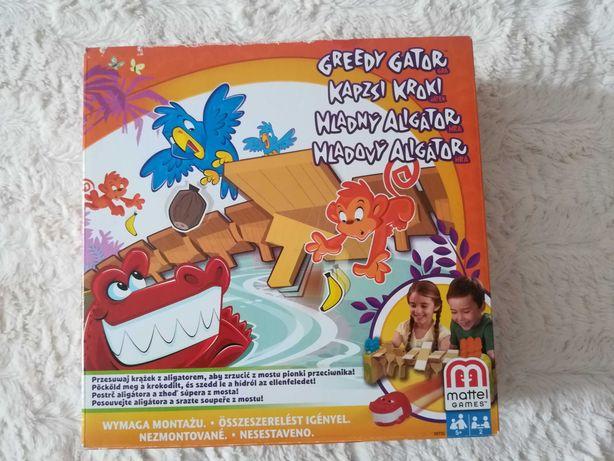 gra Greedy Gator / Głodny Aligator MATTEL