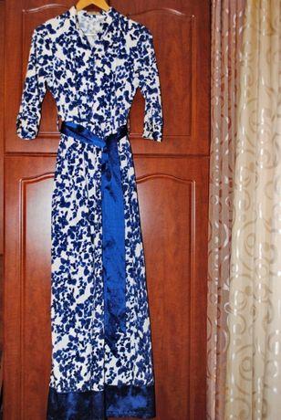 Платье Nina Ricci в пол, 44-46
