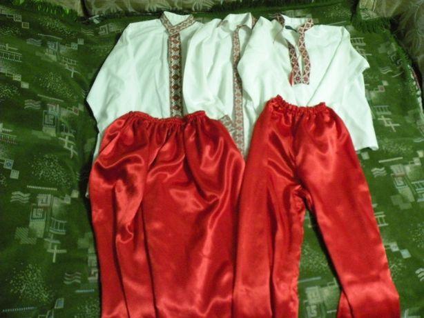Украинские костюмы мужские 42-48 размера ПРОКАТ козак.