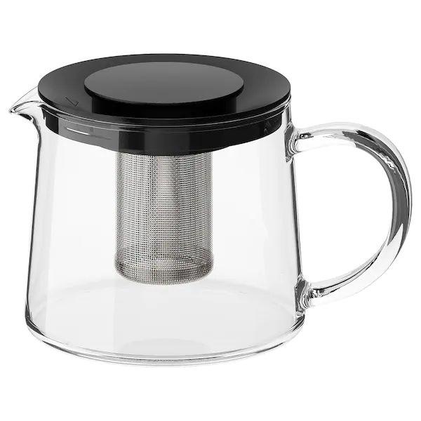 Чайник заварочный 0,6л IKEA стеклянный заварник Одесса - изображение 1