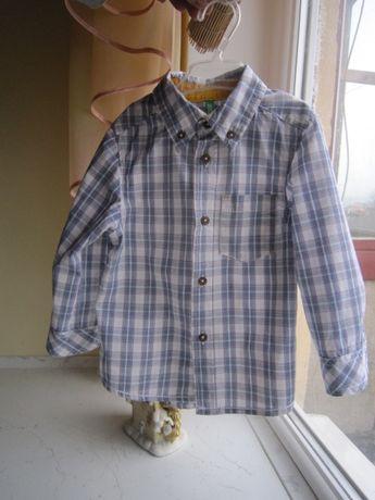 рубашка сорочка на 1-2 роки Benetton