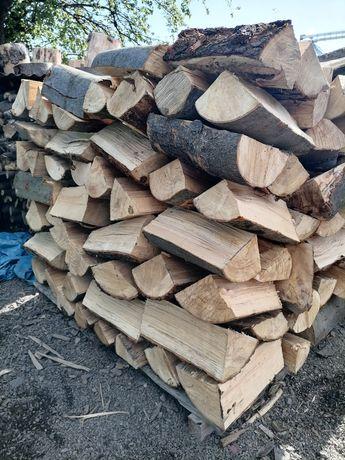 Drewno kominkowe - opałowe buk, dąb.