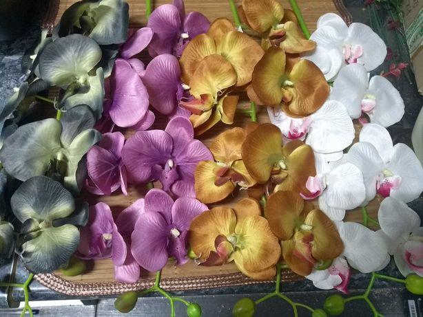 Storczyk gałązka. Sztuczne kwiaty