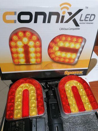 Lampy bezprzewodowe przyczepa leśna Connix