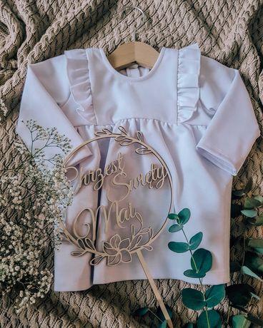 Sukienka na chrzest 62-68