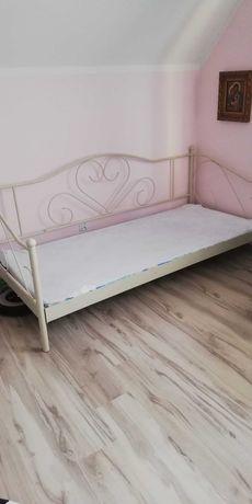 Łóżko metalowe pojedyncze