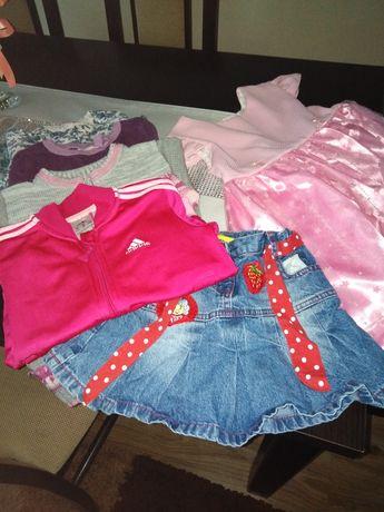 Ubrania zestaw dla dziewczynki