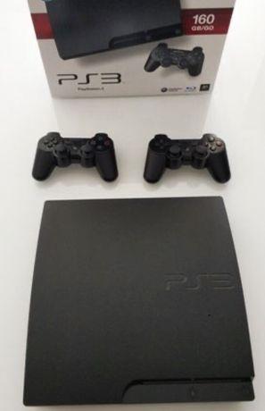 PS3 Consola + 2 comandos Wireless
