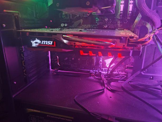 Видеокарта  GEFORSE GTX 1050ti 4 gb