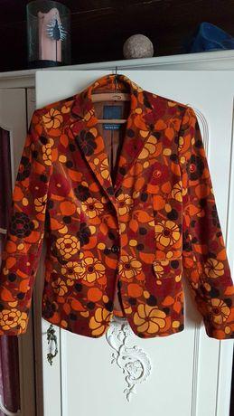 Żakiet włoski  bawełniany, kolory jesieni