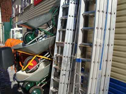 лестница - стремянка 3x12 ступеней 9.5 метровая профессиональная NEW